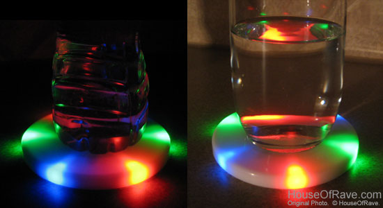 The L E D Lights Shine Through The Solid White Surface With 6 Leds That Light Up Brightly And