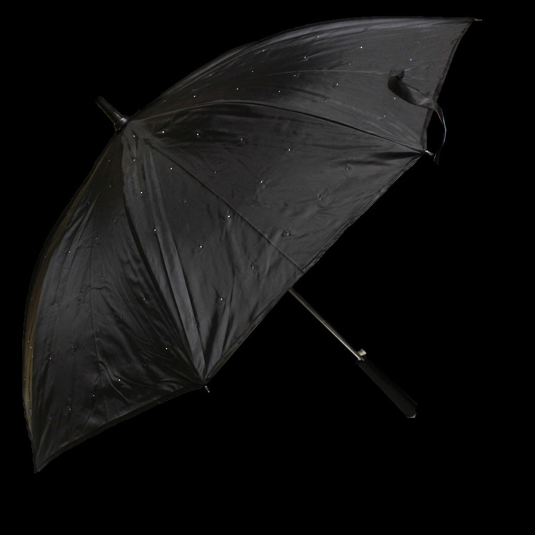 LED Umbrella Black
