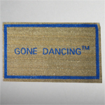 Gone Dancing Doormat