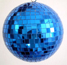 Disco Balls 12 Inch Blue Disco Big Jpg