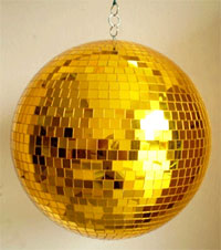 Disco Balls 8 Inch Gold Disco Big Jpg