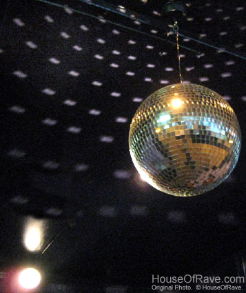 How to set up a disco ball at houseofrave aloadofball Image collections