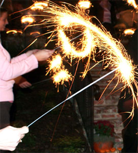 36 Inch Gold Sparklers 144 pieces