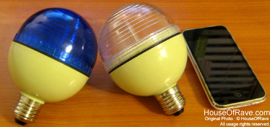 Each Contains A High Output Arc Bulb That Lasts For Over