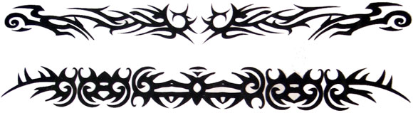 Tattoo Tribal Bands