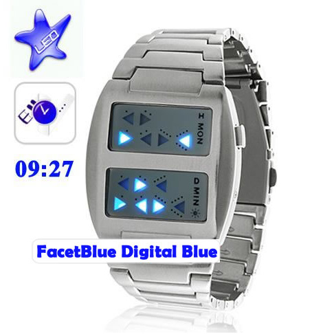 FacetBlue Digital Watch