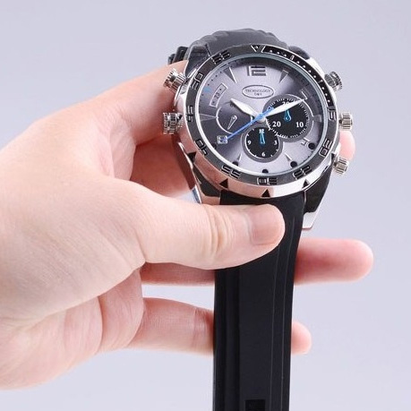Spy Camera Wrist Watch