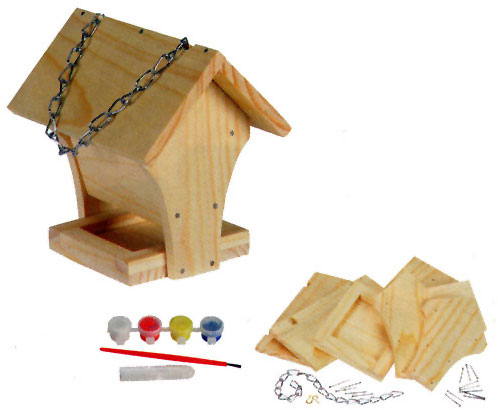 build a birdfeeder assembled size 4 1 2 x 6 x 5 1 2